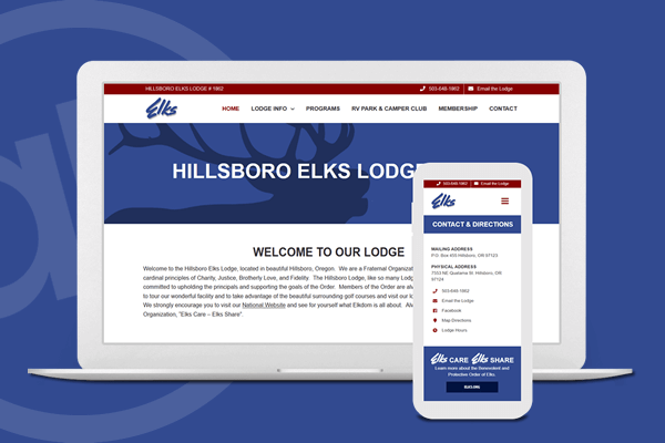 Website Design for Fraternal Order in Cincinnati, Ohio | Austin Blu