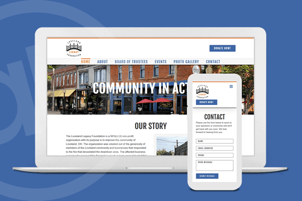 Website Design for Non-profit Organization in Cincinnati, Ohio | Austin Blu