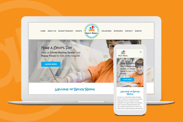 Children's Charity Website Design in Cincinnati, Ohio | Austin Blu