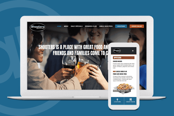 Website Design for Restaurant and Sports Bar in Cincinnati, Ohio | Austin Blu